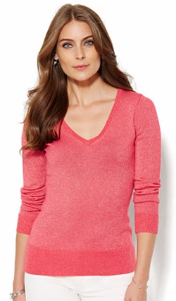 NY Deals - Luxe Waverly Lurex Sweater