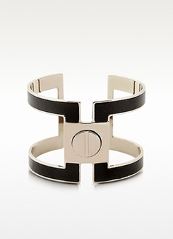 Pluma  - Brass Single Viti Cuff Bracelet