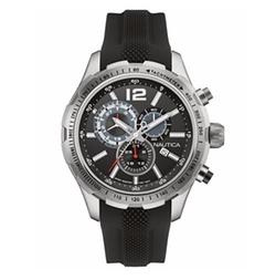 Nautica - Chronograph Silicone Strap Watch