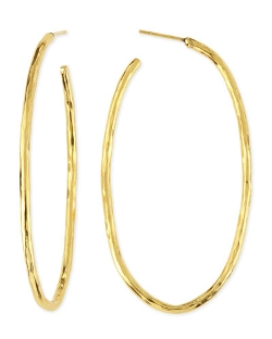 Herve Van Der Straeten	  - Epure Simple Tube Hoop Earrings
