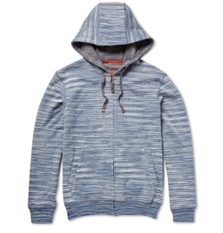 Missoni - Space-Dyed Cotton-Jersey Hoodie