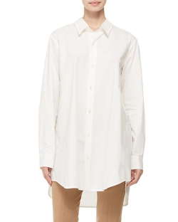 Donna Karan  - Oversized Button-Down Shirt