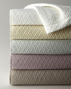 """Dransfield & Ross House  - """"Vannerie"""" Coverlets"""