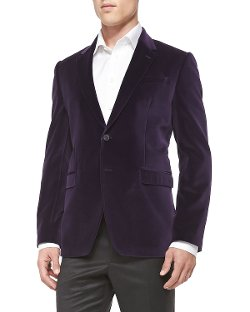 Paul Smith  - Slim-Fit Velvet Jacket