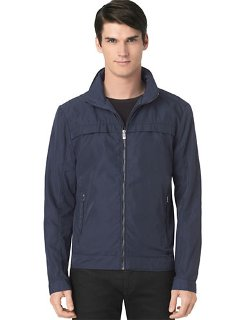 Calvin Klein  - Classic Fit Twill Hooded Jacket