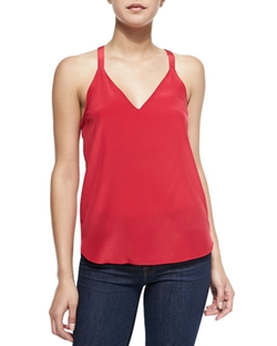 Amanda Uprichard - Sleeveless V-Neck Cami Top
