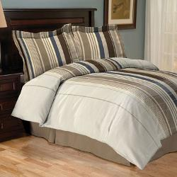 Deven - Vertical Striped Comforter Set