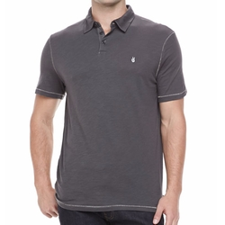 John Varvatos Star USA - Short Sleeve Peace-Sign Polo Shirt