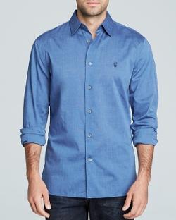 John Varvatos USA  - Peace Sign Button Down Shirt