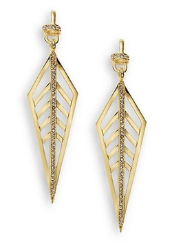 Paige Novick  - Veronica Trapeze Drop Earrings
