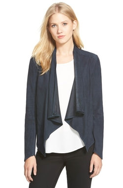 LaMarque  - Asymmetrical Suede Jacket