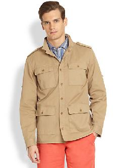 Faconnable  - Cotton Field Jacket