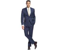 Ralph Lauren - Light Navy Striped Suit