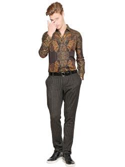Etro - Paisley Printed Cottong Shirt