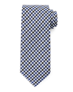 Tom Ford - Houndstooth & Stripe Silk Tie