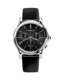 Emporio Armani  - Swiss Made Stainless Steel Watch