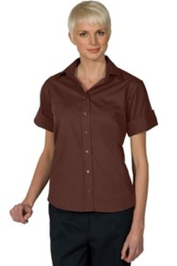 Edwards Garment - Open Neck Blouse