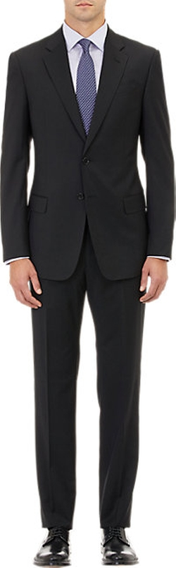 Armani Collezioni - Twill Two-Button Suit