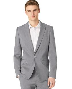 Calvin Klein -  End-On-End Tech Slim-Fit Blazer