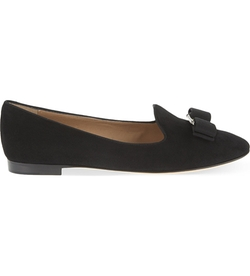 Ferragamo - Scotty Suede Loafer Shoes