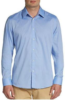 Carr - Solid Chambray Sportshirt