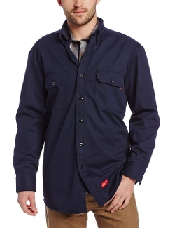Dickies - Long Sleeve Twill Button-Down Shirt