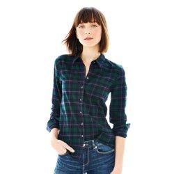 Joe Fresh - Long-Sleeve Plaid Flannel Shirt