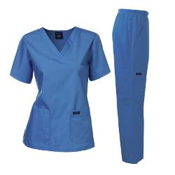 Dagacci Medical Uniform  - Missy Fit V Neck Women