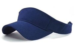 Mega Cap - Washed Cotton Twill Velcro Adjustable Sun Visor Hat