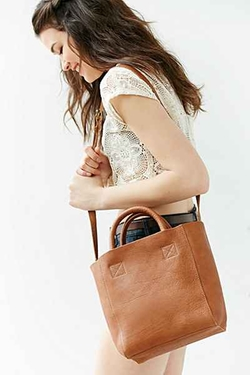 BDG  - Mini Leather Tote Bag