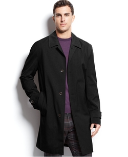 Michael Michael Kors -  Franklin Single-Breasted Rain Coat