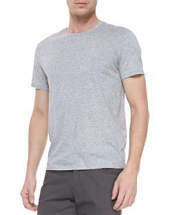 Vince  - Short-Sleeve Jersey Tee, Gray