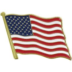Flags Unlimited - USA Flag Lapel Pin
