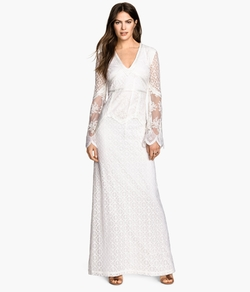 H&M - Long Lace Dress