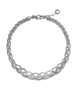 John Hardy - Chain Collar Braided Necklace