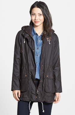 Barbour  - Packable Waxed Cotton Jacket