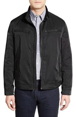 Cole Haan - Full Zip Moto Jacket