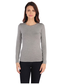 Majestic  - Long Sleeve Crewneck Tee