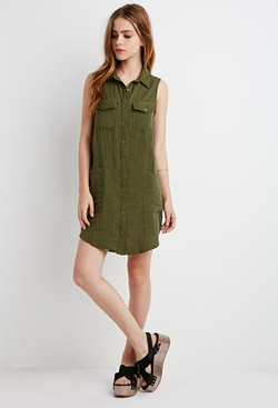 Forever21 - Pocket Shirt Dress
