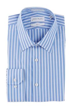 John W. Nordstrom - Trim Fit Striped Dress Shirt