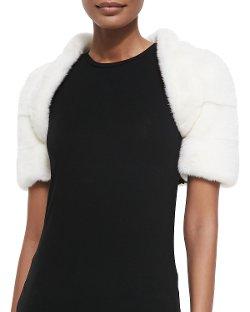 J. Mendel - Mink Fur Bolero Jacket