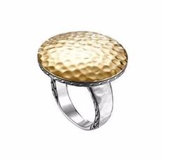 John Hardy - Palu Silver & Gold Round Ring