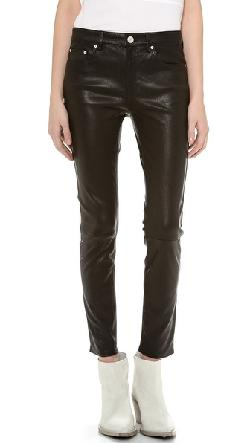 Acne Studios  - Skin 5 Pocket Leather Pants