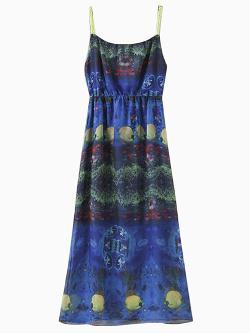 Choies - Blue Underwater World Print Beach Dress