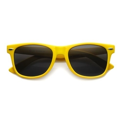 ZzeroUV - Retro Large Horn Rimmed Style Sunglasses