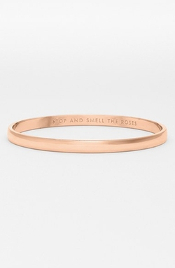 Kate Spade New York  - Stop and Smell The Roses Bangle Bangle