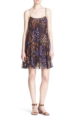 Diane Von Furstenberg  - Baylee Print Silk Slipdress
