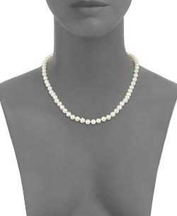 Saks Fifth Avenue - Akoya Pearl Strand Necklace
