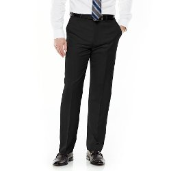 Croft & Barrow - Classic-Fit Flat-Front No Iron Microfiber Dress Pants