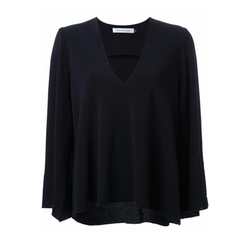 Christopher Esber - Long Sleeve V-Neck Blouse